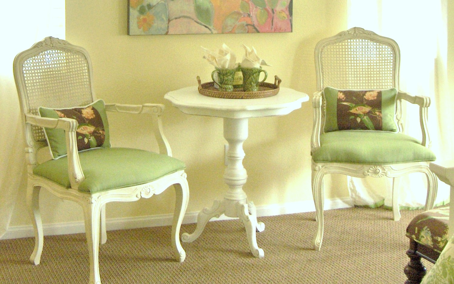 Five Great Reasons to Reuse Furniture - What's Old Is New Again…. Refurbish And Recycle! Sophia La Marca