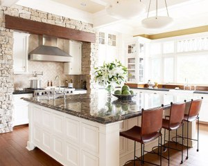 Large islands create a gathering space for conversation, food prep or simply mingling!